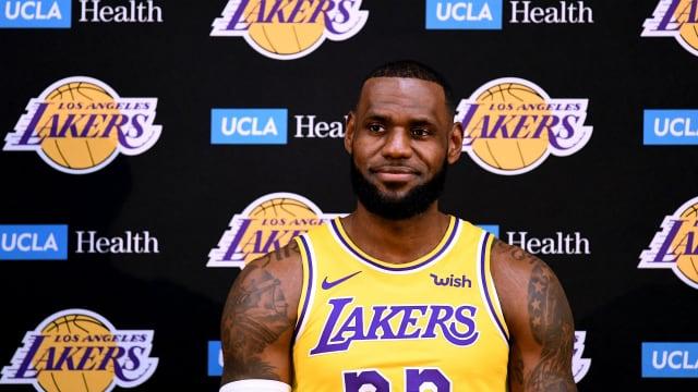7cc6b4b354a Lakers a long way from Warriors, warns LeBron - AOL