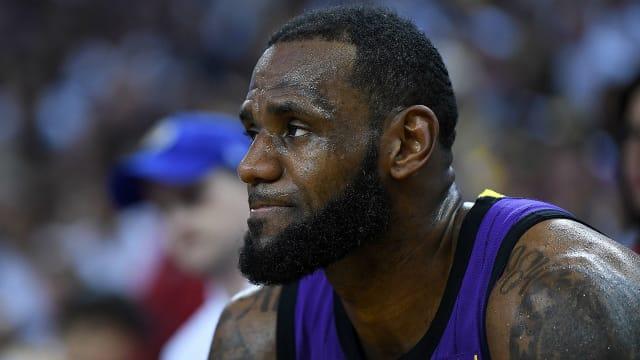 ae8b7ba84 Lakers star LeBron won t face Timberwolves - AOL