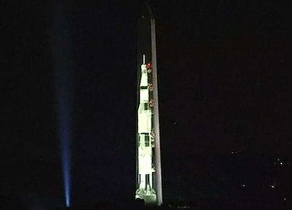 Washington Monument celebrates Apollo 11 anniversary