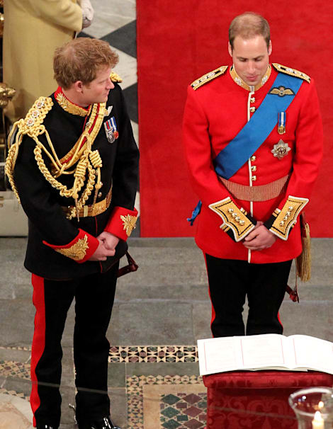 Prince William Wedding.So What Exactly Did Prince Harry Whisper To William At The