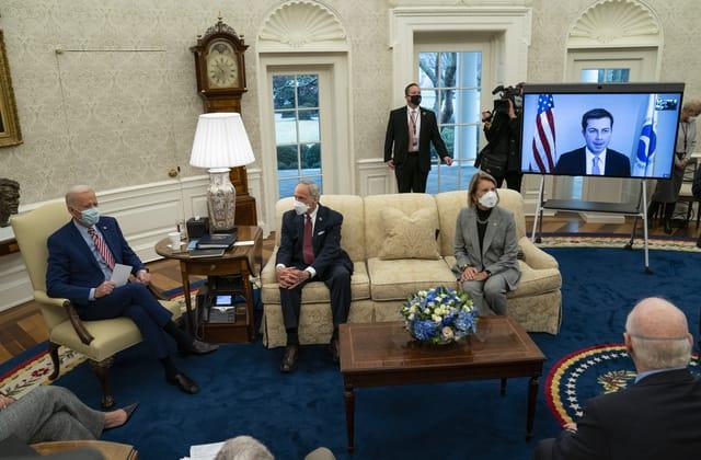 Biden team lays groundwork for another top legislative priority