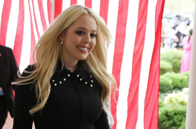 Tiffany Trump announces she's engaged