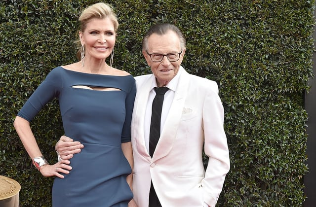 Larry King's widow remembers him as he is laid to rest