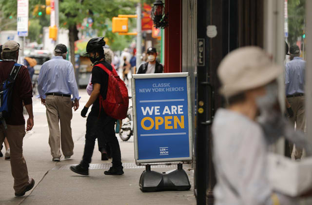 Economy adds 379,000 payrolls, unemployment rate falls to 6.2%
