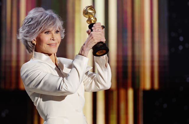 Hollywood legend's powerful Golden Globes speech