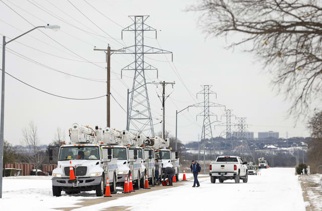 Texas power grid CEO fired after deadly blackouts
