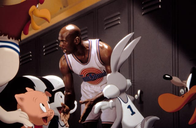 Looney Tunes skunk cut from 'Space Jam' sequel
