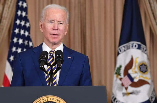 Biden surprises by sticking with Trump trade policies