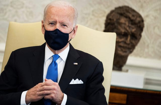 Biden: 'Neanderthal thinking' for states to end mask rules
