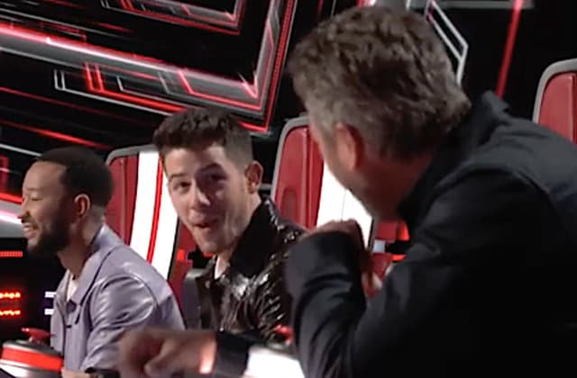 Coach on 'The Voice' fails to recognize old friend
