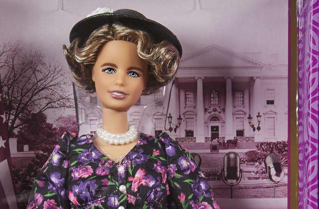 New Eleanor Roosevelt Barbie thrills historians