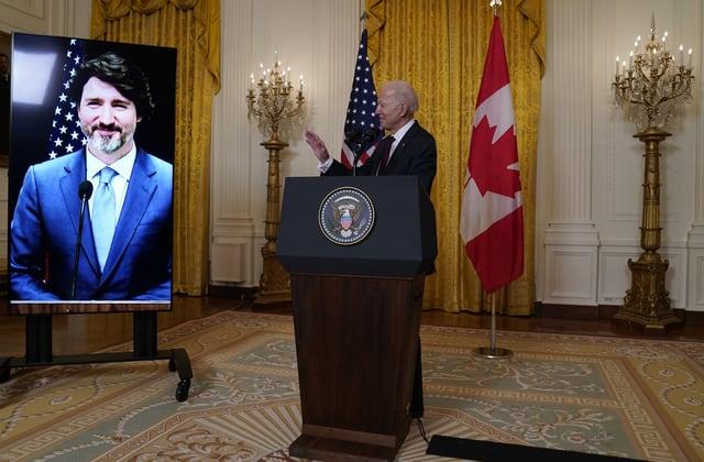 Trudeau's subtle 'leadership' dig at Trump to Biden
