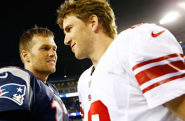 Eli Manning says Brady still isn't over 2008 Super Bowl