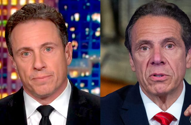 Chris Cuomo says he 'cannot cover' brother's scandal