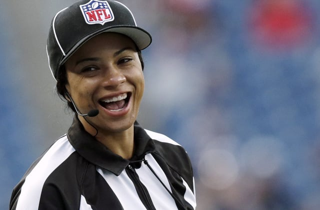 NFL names 1st Black female referee to officiating crew