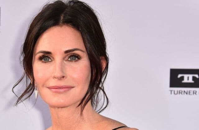 Courteney Cox reveals five-minute beauty routine