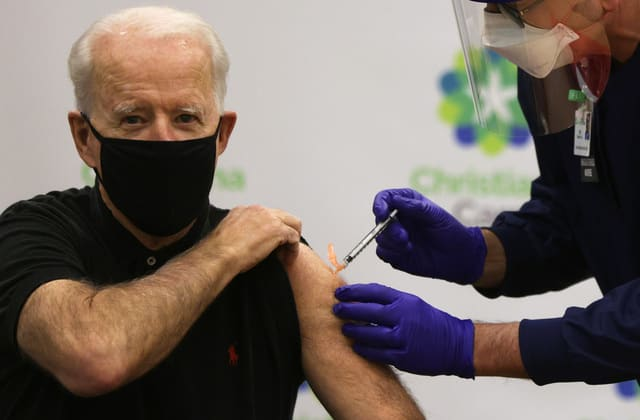 Biden wants to get 300M Americans vaccinated
