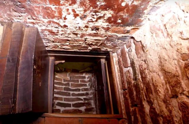 Man finds Chapel trapdoor, uncovers secret room