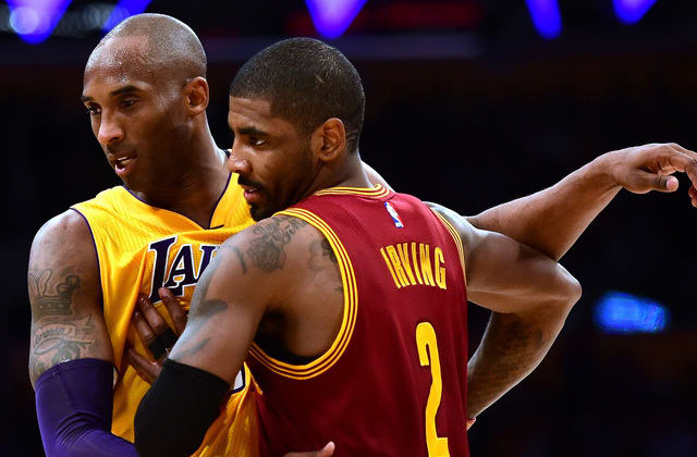 Kyrie Irving wants NBA to honor Kobe with new logo