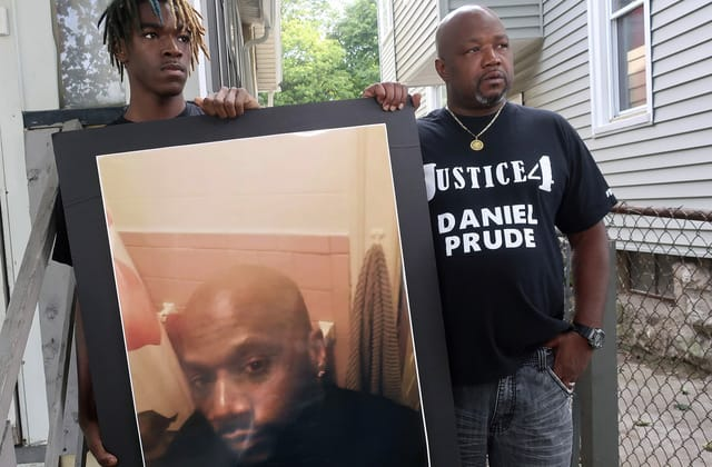 Wrongful death suit filed in case of man restrained by police
