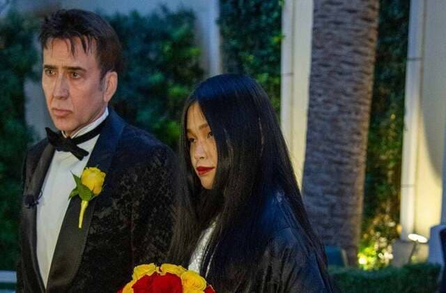 Nicolas Cage gets married for the 5th time in Las Vegas