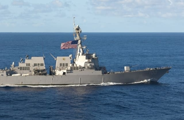 COVID-19 outbreak reportedly strikes another Navy ship