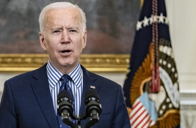 'Help is on the way,' Biden declares as relief bill passes