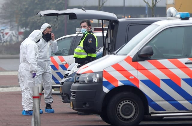Explosion at Dutch Covid test centre 'appears intentional'