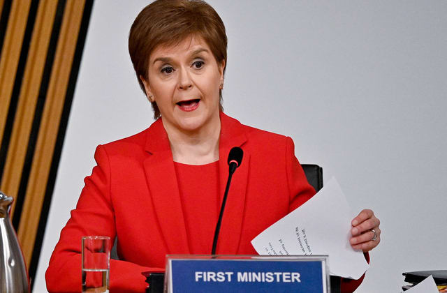 Sturgeon rejects plot claim as she faces calls to resign