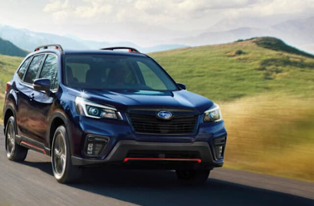 2021 Subaru Forester gets more standard features