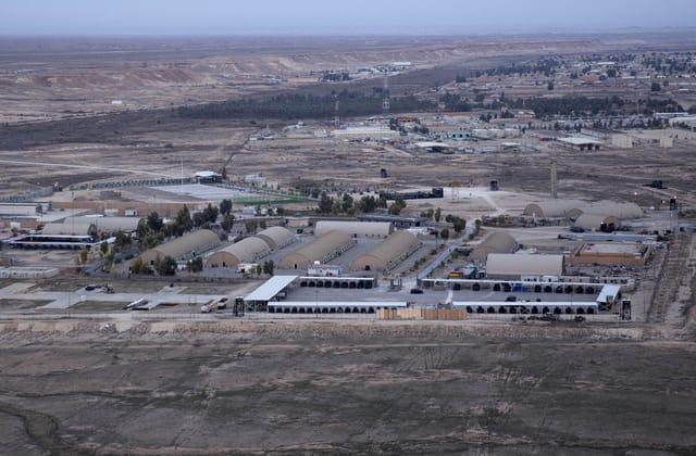 Multiple rockets hit airbase hosting U.S. troops in Iraq