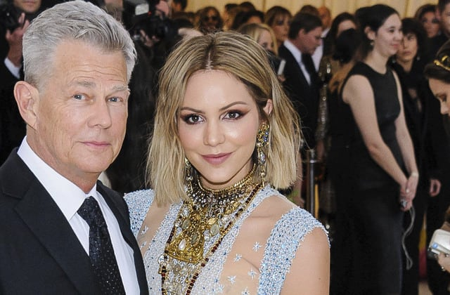 Katharine McPhee speaks out about her age gap with David Foster