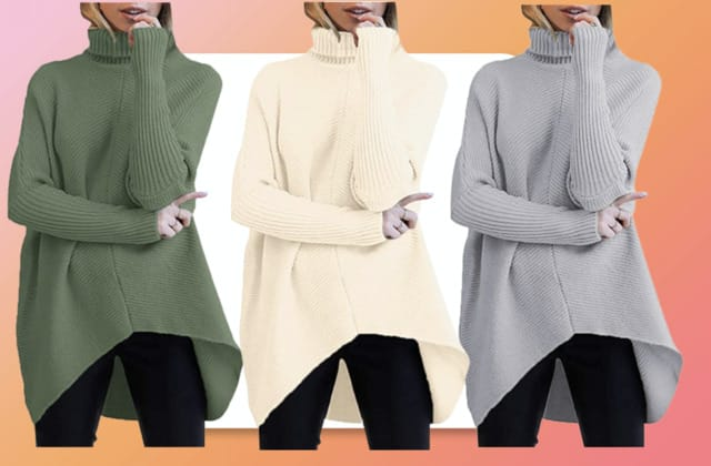 The sweater with more than 10,000 Amazon reviews is finally back in stock