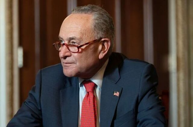 Dems may push relief plan without GOP: Schumer