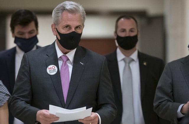 House GOP leader slams Biden's 'bloated' relief bill