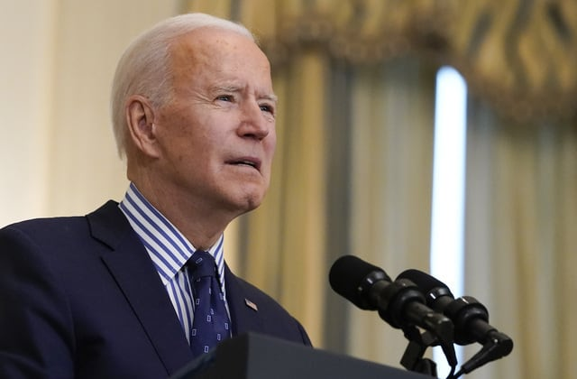 'Let the people vote': Biden signs executive order