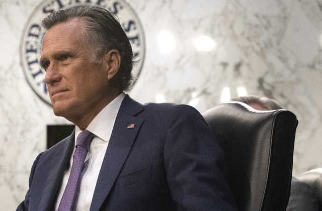 Romney needed stitches after weekend fall left him unconscious