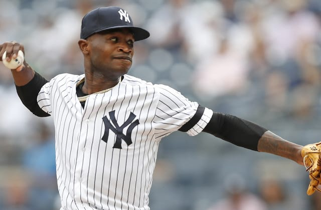 Yankees pitcher apologizes after domestic violence suspension
