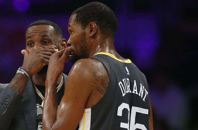 LeBron, Durant snub one team's All-Stars in draft