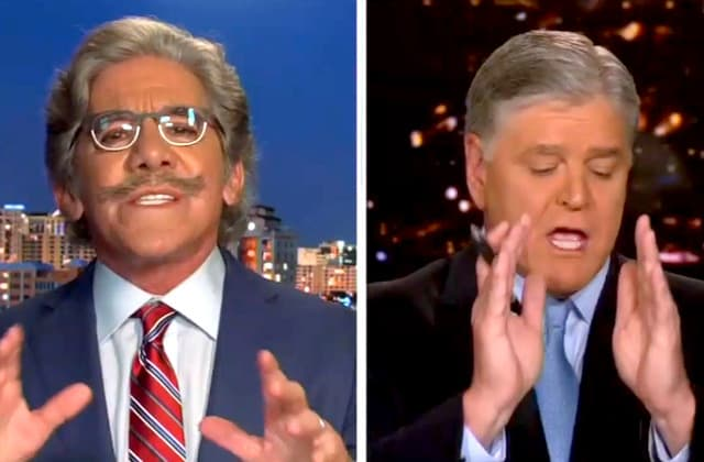 Geraldo Rivera gets shouted down on 'Hannity'
