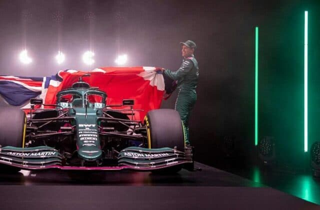 Aston Martin launches first F1 car in 61 years
