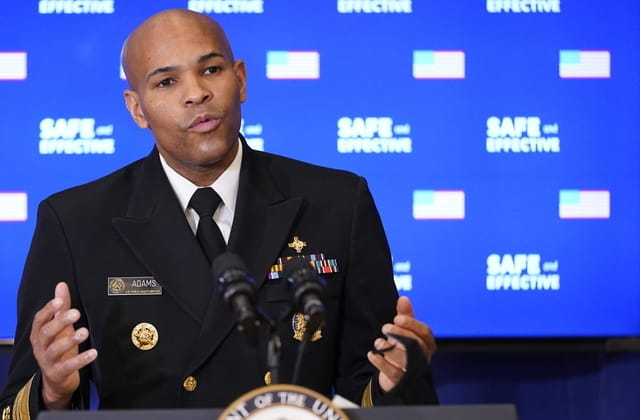 U.S. surgeon general shares 1 big regret about pandemic