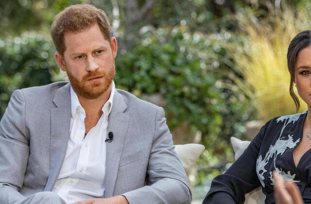 Harry: The queen didn't discuss Archie's skin color