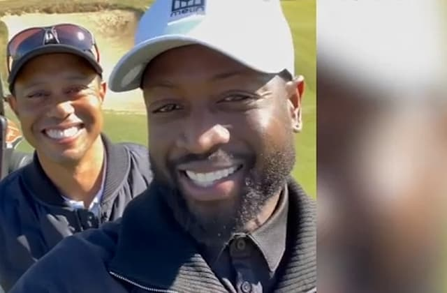 Dwyane Wade had 'great day' golfing with Woods day before car crash