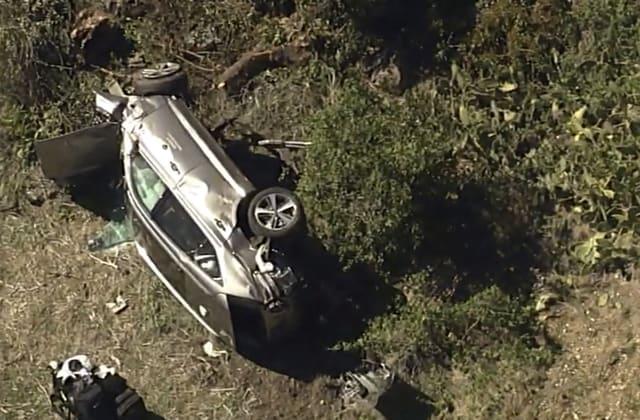 Tiger Woods 'seemed calm' after crash, deputy says