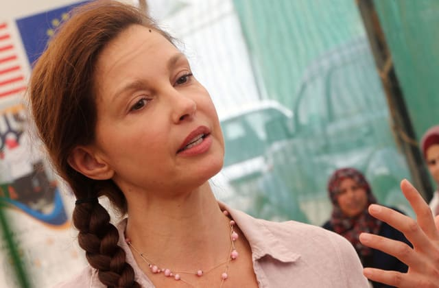 Ashley Judd: 'Nights are a savage agony' after fall in Congo