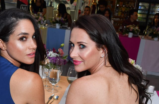 Meghan Markle's best friend made a controversial mistake
