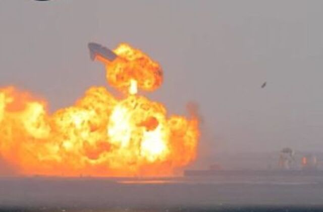 SpaceX Starship rocket prototype nails landing, then blows up