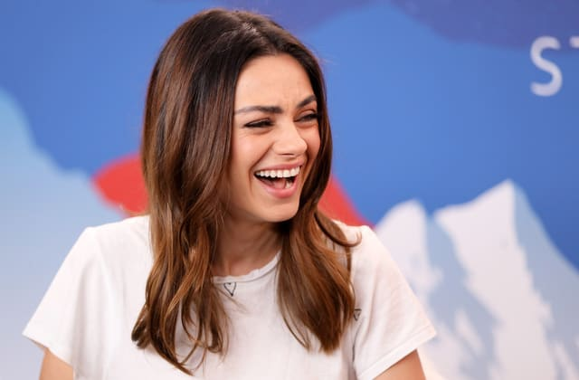 Mila Kunis went to a 'baby rave' with her kids