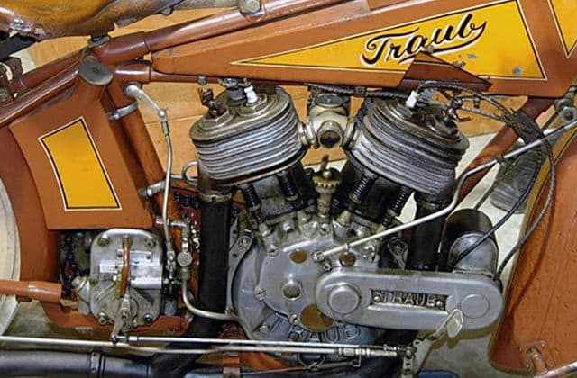 Plumber found classic motorcycle in family's wall